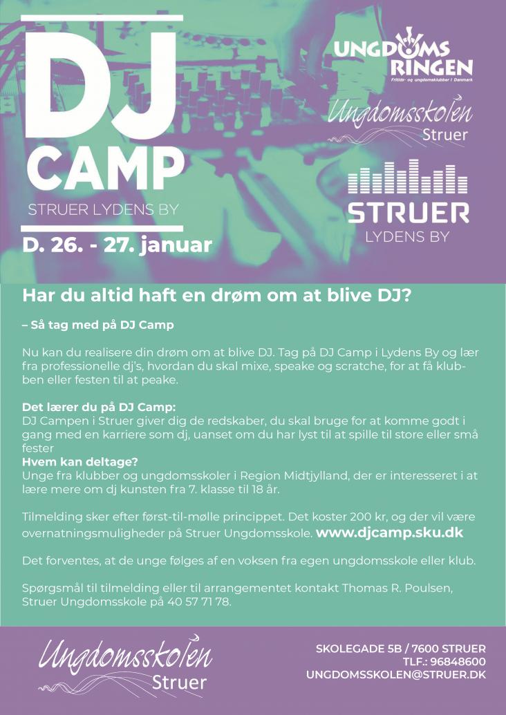 DJ Camp plakat